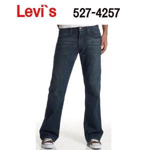 미국 직수입 리바이스 청바지 527-4257 SLIM BOOTCUT