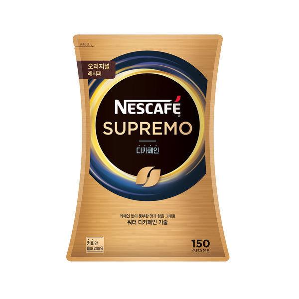 네스카페 수프리모 디카페인 150g