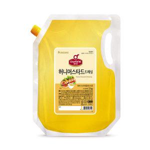 쉐프원 허니머스타드드레싱 2kg/청정원 소스