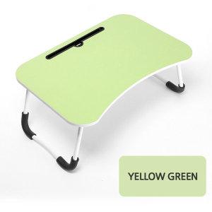 편리한 베드 테이블 베드 트레이 접이식 옐로우그린