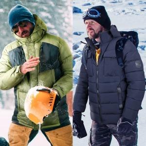 패딩점퍼 바람막이 초경량 남자 겨울 방한복 작업복