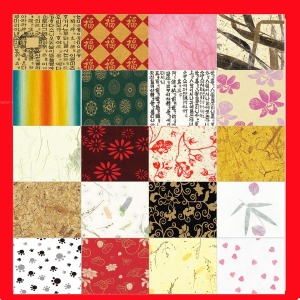 색한지 색운용지 디자인 무늬 글씨 모양 꽃 한지 용지