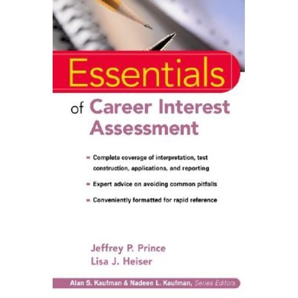 Essentials of Career Interest Assessment...