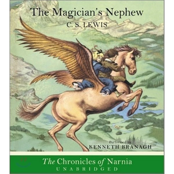 The Chronicles of Narnia Book 1 : The Magician s Nephew (Audio CD)  C  S  Lewis Pauline Baynes