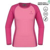 웨스트우드  여성 기능성 드라이젠 라운드 티셔츠 (WWD_WD1WTTR324_PI_)