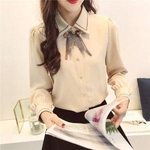 여성 겨울 기모 셔츠 남방 융털 정장 오피스룩 CG70