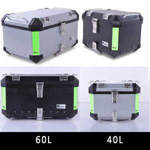 오토바이 알류미늄 탑박스 THOR 40 60리터 바이크가방
