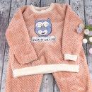 폴로부엉이 남아동/여아동 공용 밍크수면잠옷 아동잠옷