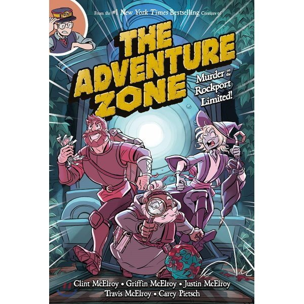 Adventure Zone : Murder on the Rockport Limited   Clint McElroy