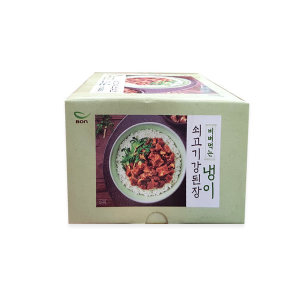 본죽 냉이쇠고기 강된장 100g 6개(비빔용)