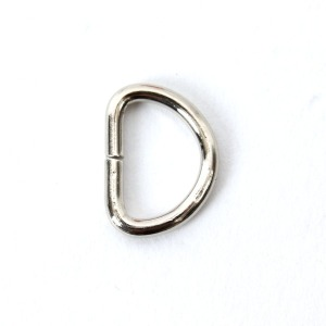 D링 10mm (반달링) - 니켈
