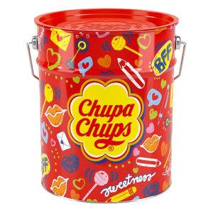 츄파춥스 팝아트틴 150개입 막대사탕