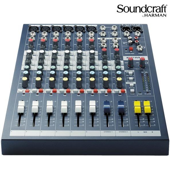 SOUNDCRAFT 아날로그 오디오믹서 음향 믹싱콘솔 EPM6