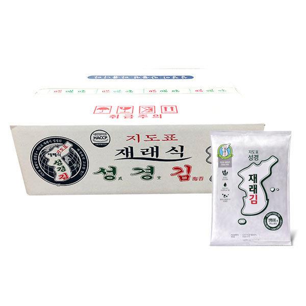 성경김 재래식 전장김 30gx20봉 1박스출고