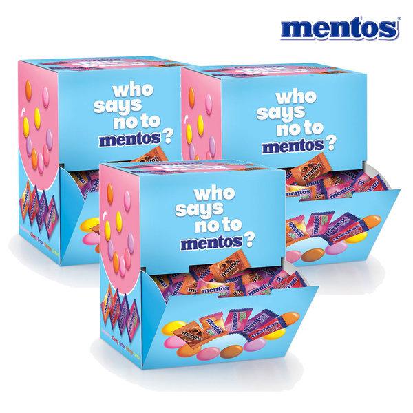 멘토스모노  150입(420g)X3개 6가지맛 스마일배송단독