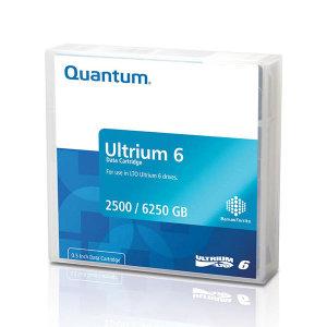 QUANTUM LTO6 2.5TB / 6.25TB 백업테이프 MR-L6MQN-01