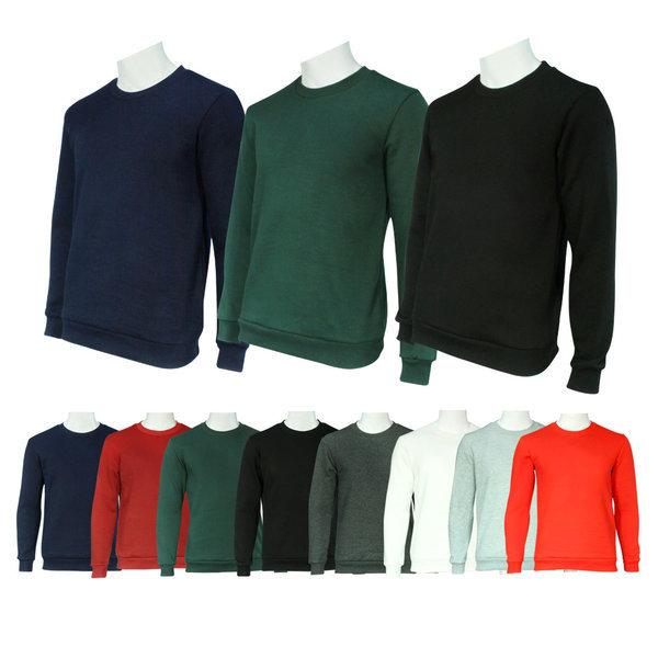 가을겨울 남녀 맨투맨 기본 무지티셔츠 긴팔 라운드티