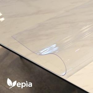 유리대용 투명매트 식탁 보 아스테이지 테이블 고무판