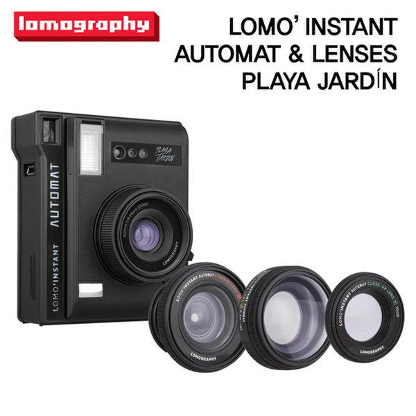 로모 인스턴트 오토맷 - 플라야쟈뎅(블랙) 렌즈킷 (LOMOINSTANT AUTOMAT   LENSES - PLAYA JARDIN)