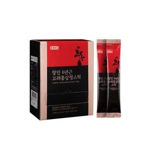 홍정관  장인 6년근 고려홍삼정스틱 10ml 100포