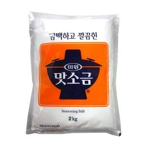 (무)미원 맛소금2kg
