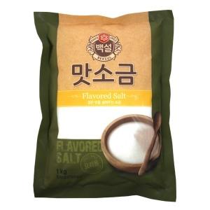 (무)백설 맛소금1kg