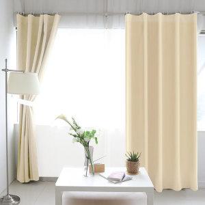 암막커튼 긴창 핀형/커텐 거실 창문 겨울 대형 방풍