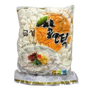 (무)(냉장)금성 쌀떡(떡국떡)3kg