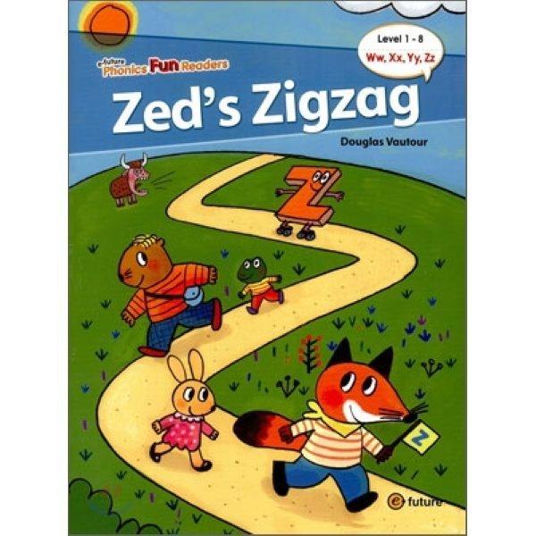 Phonics Fun Readers 1-8 : Zed s Zigzag  Douglas Vautour