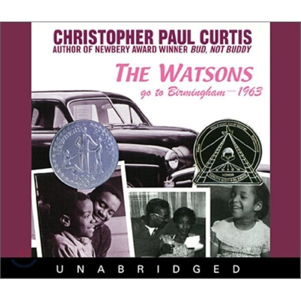 The Watsons Go To Birmingham 1963 : Audio CD  Christopher Paul Curtis