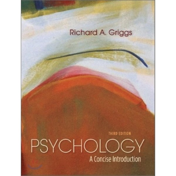 Psychology : A Concise Introduction  3 E  Richard A  Griggs