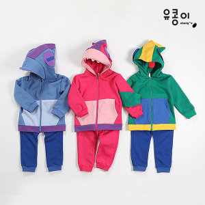 브롤스타즈 기모후드짚업 상하세트(9~13호)/레온 상어