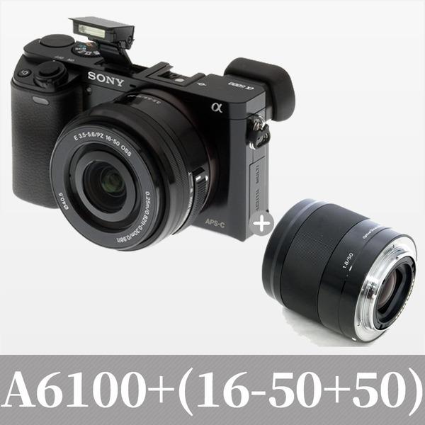 소니코리아 정품 A6100+16-50+50 F1.8 / 도우리