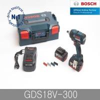 보쉬 GDS18V-300 충전 임팩트렌치 18V 5.0Ah배터리2개