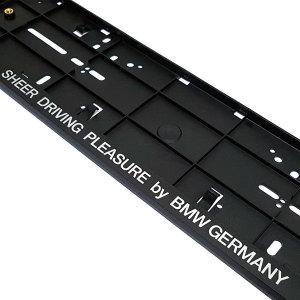 BMW 순정형 번호판 플레이트/번호판가드/비천공