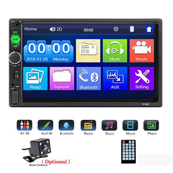 7인치 블루투스 FM 라디오 MP5 플레이어 7010B+카메라