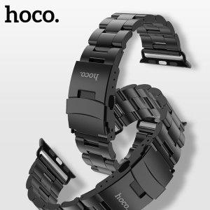 호코 정품 애플워치 더블 버클 스틸 밴드