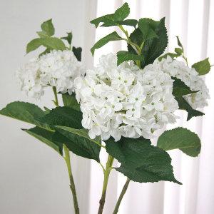 100cm특대 수국가지 인테리어꽃