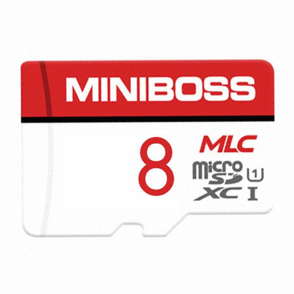 미니보스 MLC 마이크로 SD카드 블랙박스 메모리 8GB