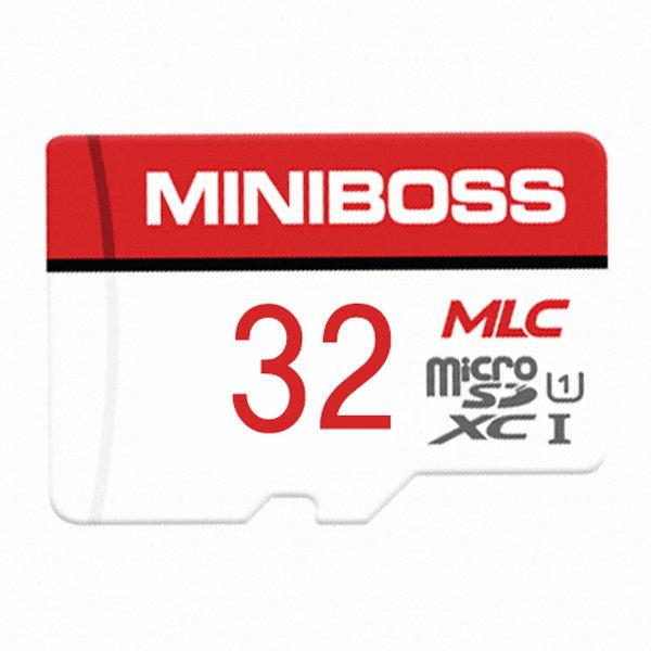 미니보스 MLC 마이크로 SD카드 블랙박스 메모리 32GB