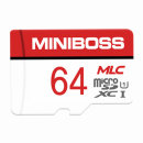 미니보스 MLC 마이크로 SD카드 블랙박스 메모리 64GB