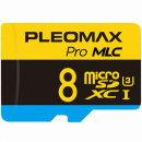 플레오맥스 마이크로 SD카드 MLC 블랙박스메모리 8GB