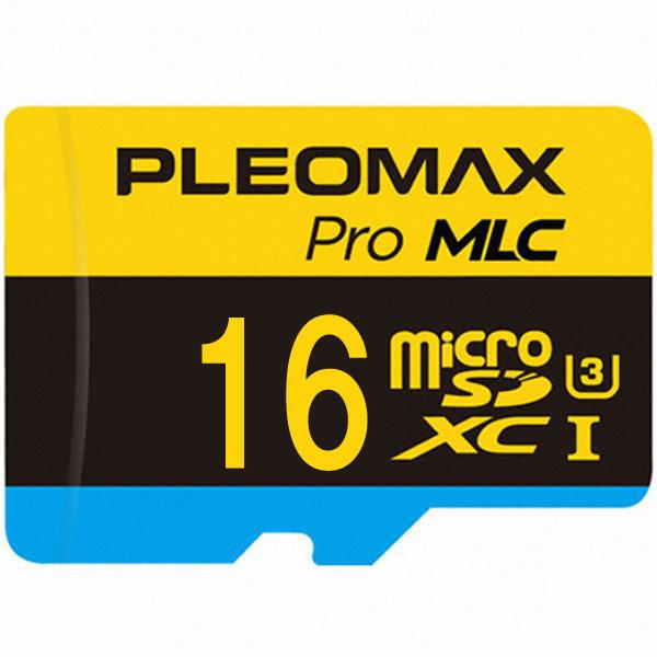 플레오맥스 마이크로 SD카드 MLC 블랙박스메모리 16GB