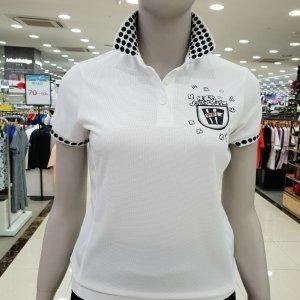 까스텔바작  모다아울렛 여성 도트 티셔츠(BG7M-TS704)