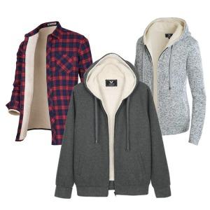 양털 후드 집업/기모셔츠/양털남방/롱패딩/겨울코트