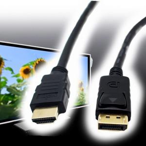 칸텔 HDMI to DP케이블 4k HDMI 디스플레이포트