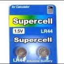 (슈퍼셀) 수은건전지 LR44 (버튼셀1.5V10개묶음) 장난