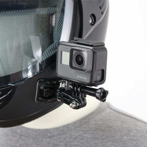 오토바이 헬멧 장착 블랙박스 마운트 고프로 히어로 8