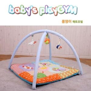 큐티쁘띠 풍뎅이 매트모빌 아기체육관 유아 놀이터