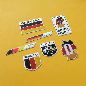 독일 자동차 엠블럼 차량 스티커 튜닝 벤츠 bmw 장식